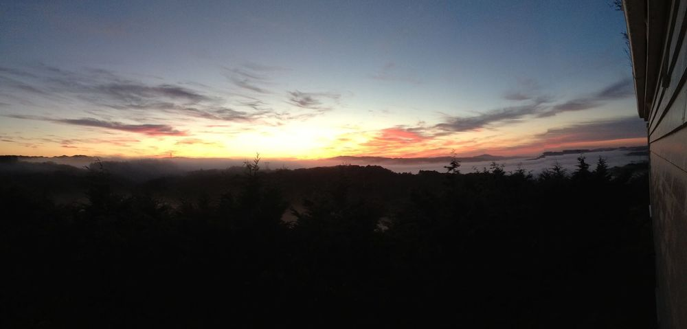 Sunrise rural style