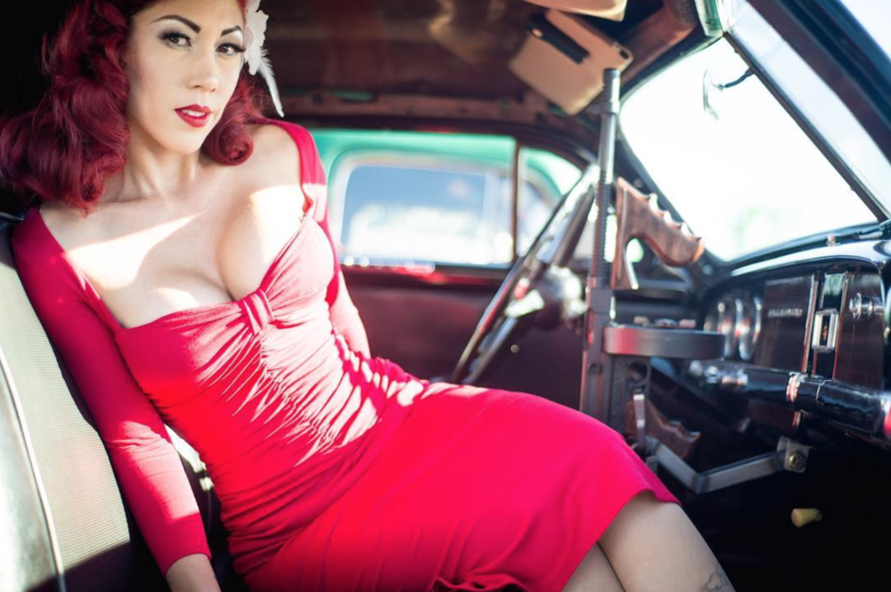 Bettie Page Clothing - Dulce Cookies red dress.png