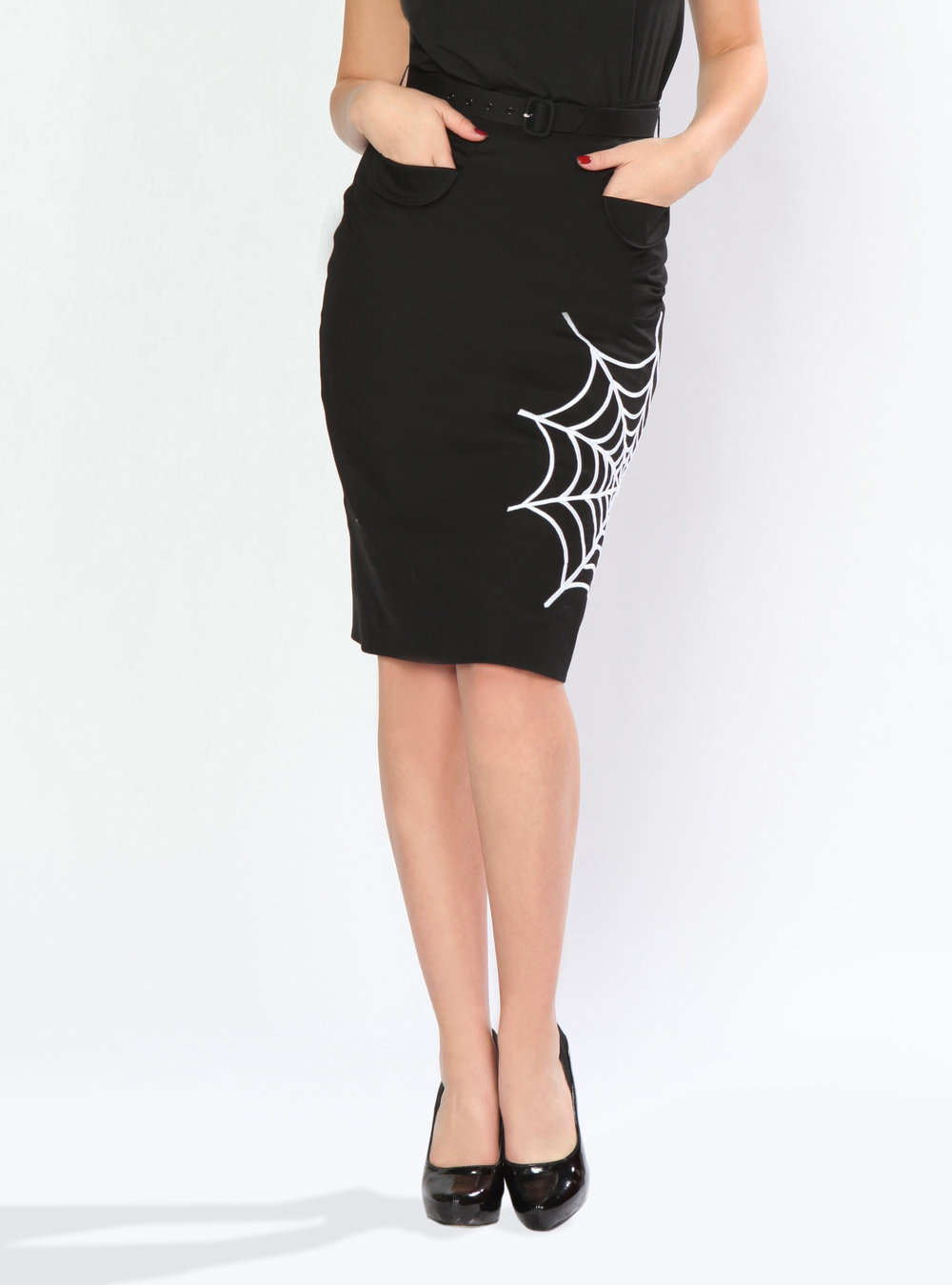 BD189640 Widow Wiggle Skirt