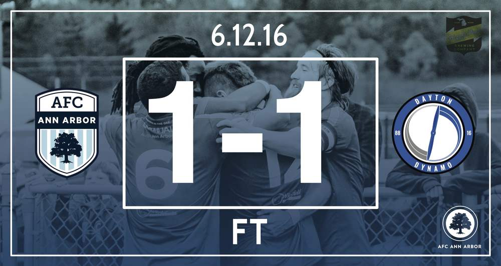 Match Recap // Rylah 43' // Audi Ann Arbor Man of the Match: Peter Tappenden