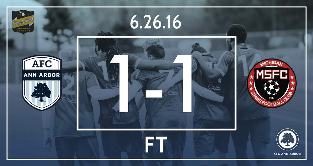 Match Recap  // 88' Suarez // Audi Ann Arbor Man of the Match: Matt Braem