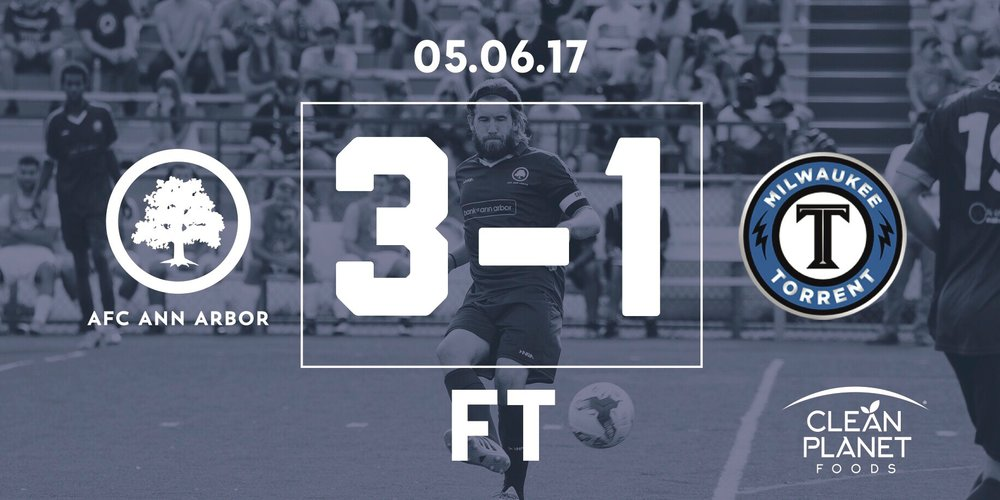 31' Suarez, 79' Breitmeyer, 80' Farkas // Match Recap // Audi Ann Arbor Man of the Match: Kyle Breitmeyer