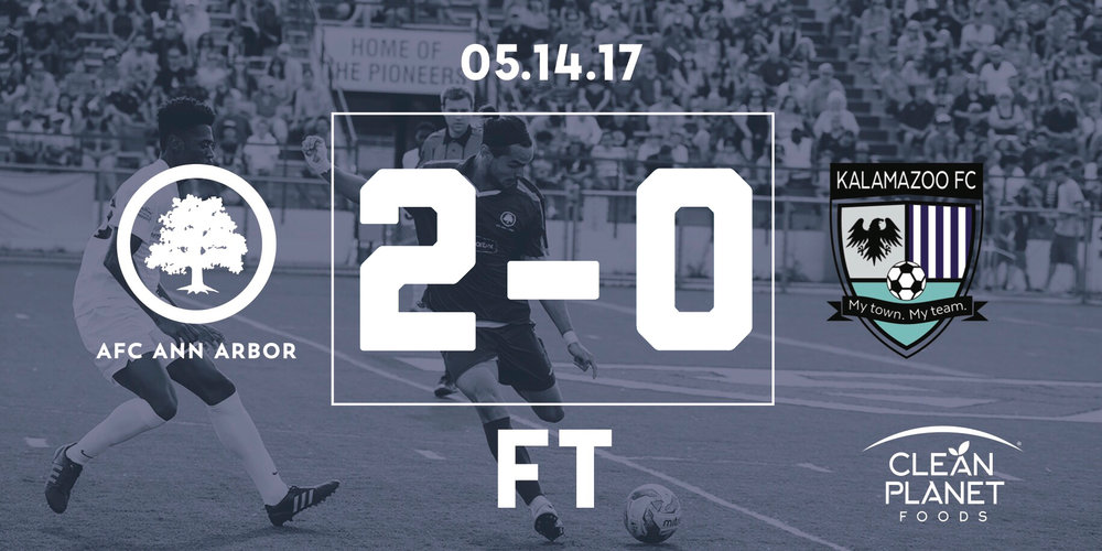 40' Breitmeyer, 55' Suarez // Match Recap // Video Highlights // Probility Play of the Game // Audi Ann Arbor Man of the Match