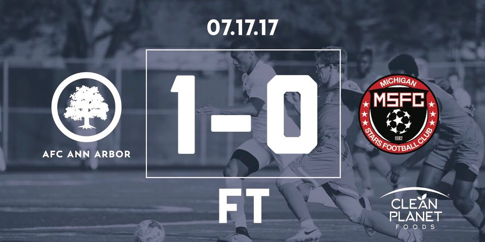 "78' Allen // Match Recap // Audi Ann Arbor Man of the Match: Kwesi ""Jep"" Allen"