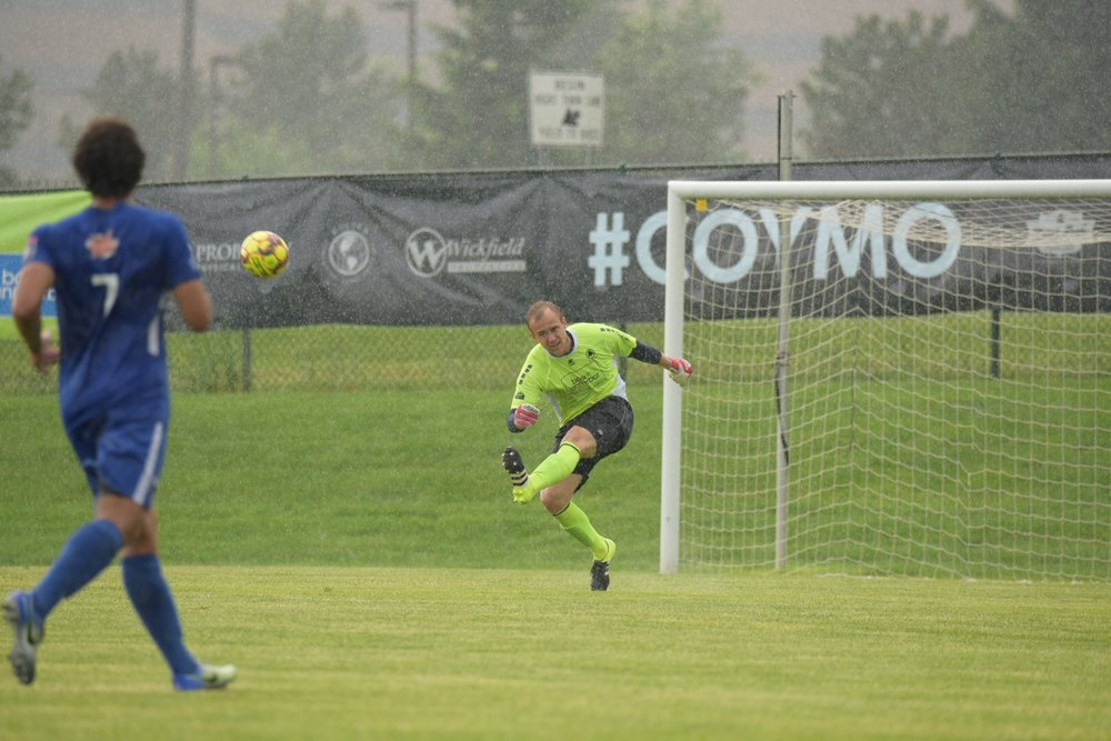 Mike Novotny earned his fourth clean sheet in four starts for The Mighty Oak