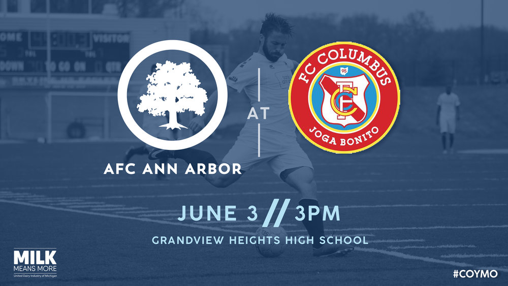 Golden Limousine Match Preview AFC Ann Arbor At FC Columbus AFC - Conference table football