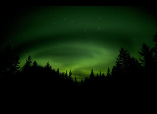 Northern Lights. Lapland, Sweden.