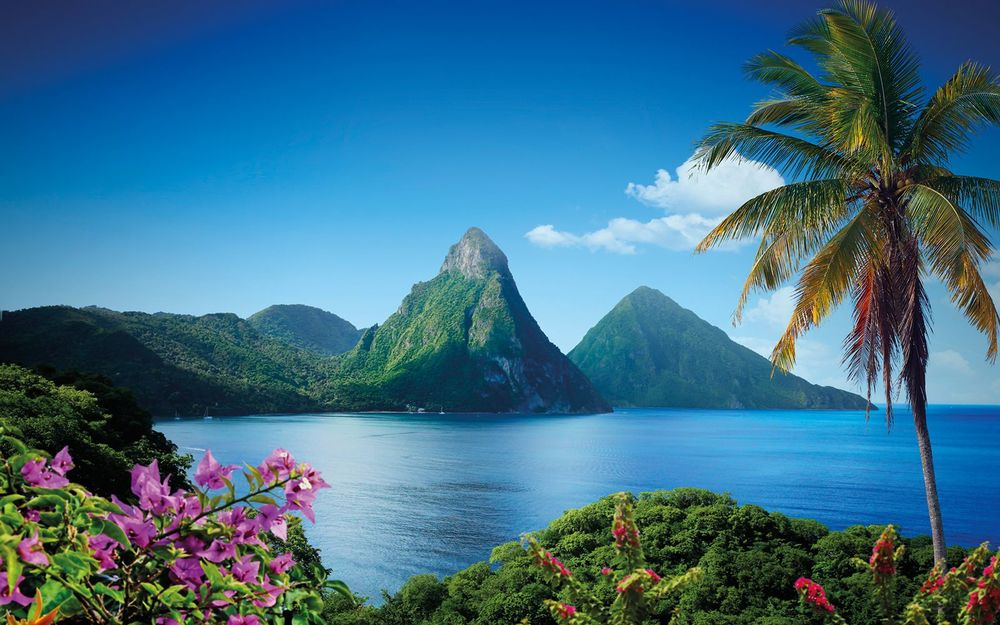 St. Lucia — so beautiful it's almost surreal.