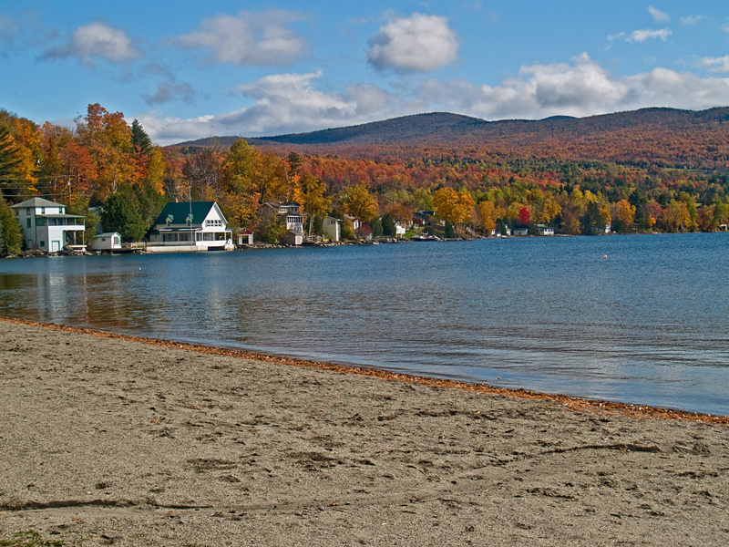 Lake Willoughby Beach, Vermont