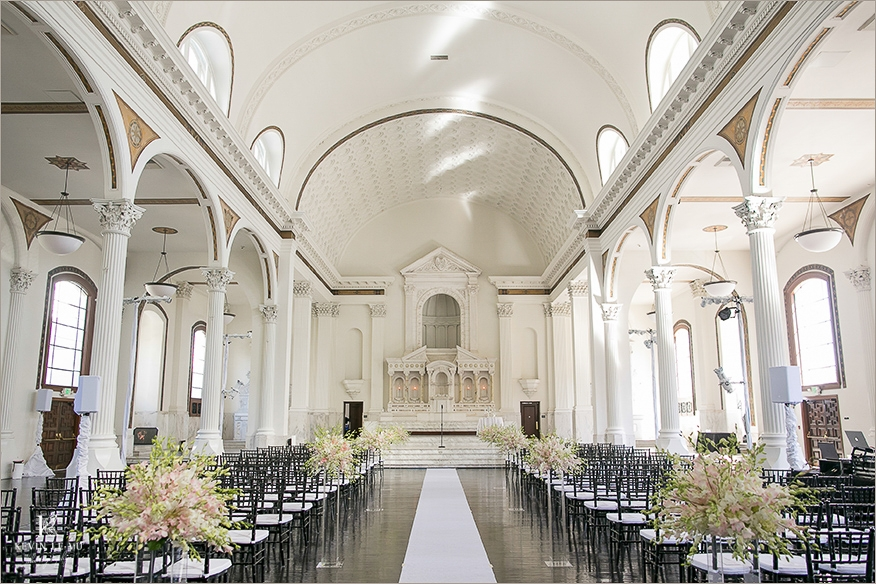 If you want the trappings of a cathedral but want to avoid the demands of the Church,  St. Vibiana's  in Los Angeles is an extraordinary venue for your big day.