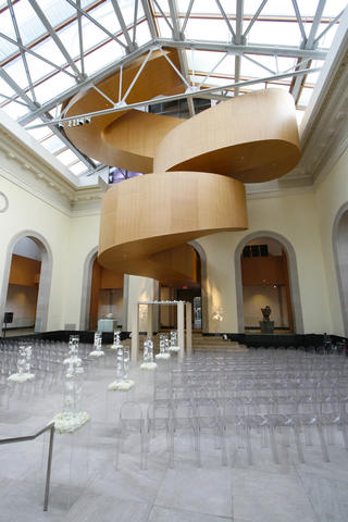 Art Gallery of Ontario  elevates any wedding to a work of art.