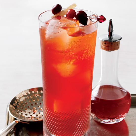 Cranberry-Spice Sparkler