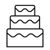 CAKE:  Dominique's Couture Cakes