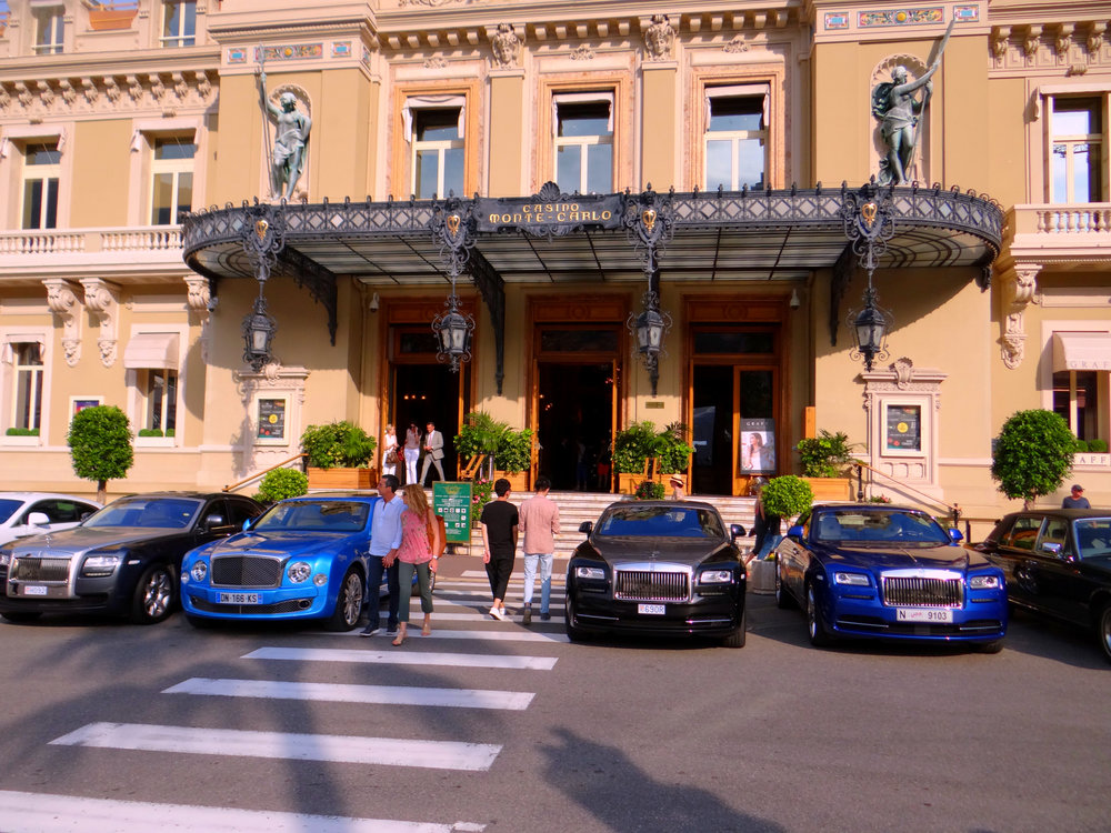 Casino de Monte Carlo. Makes you feel very James Bond.  Book  your trip today!