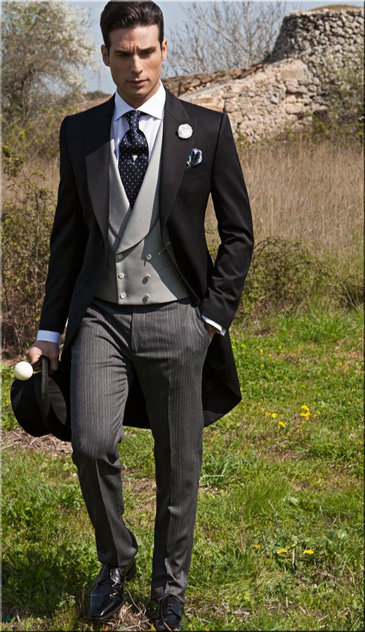 FOUR EUROPEAN WEDDING LOOKS — MEN\'S VOWS