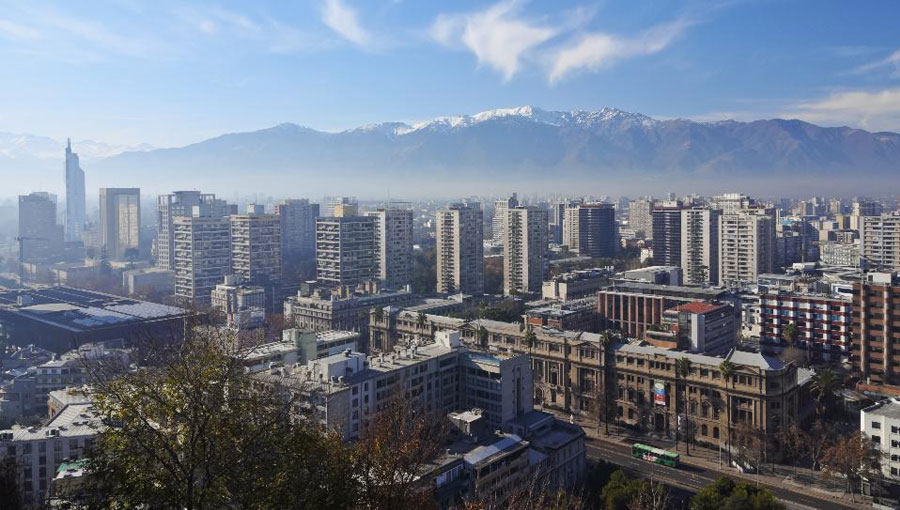 Santiago, Chile - Head to Chile for