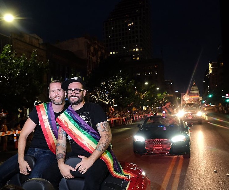 Grand Marshals of Austin Pride Parade.JPG