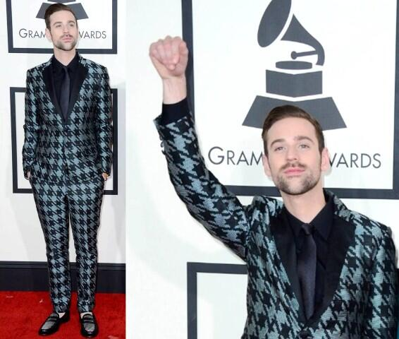Ryan Lewis in Mr. Turk at the Grammy's (he won many)!