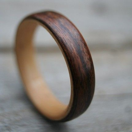 Wood Rings - We love this nod to the outdoors for popping the question.