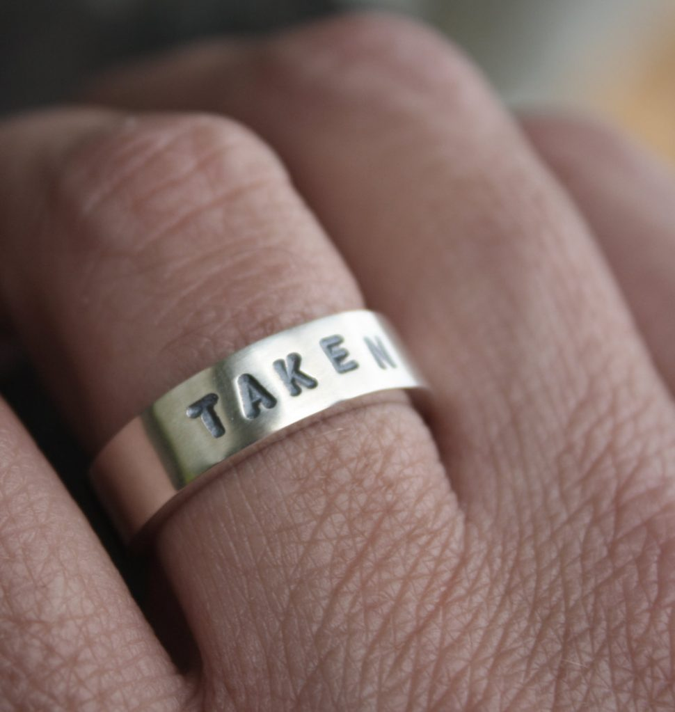 Special Engraving - Whether on the outside or inside, we love embossing your ring with a special message.