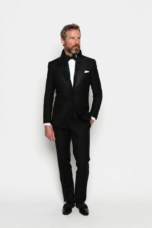 Black tie - Never has this classic look been more on trend.