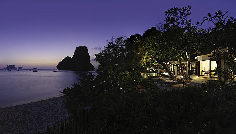 Phranang Beach View (Evening).jpg