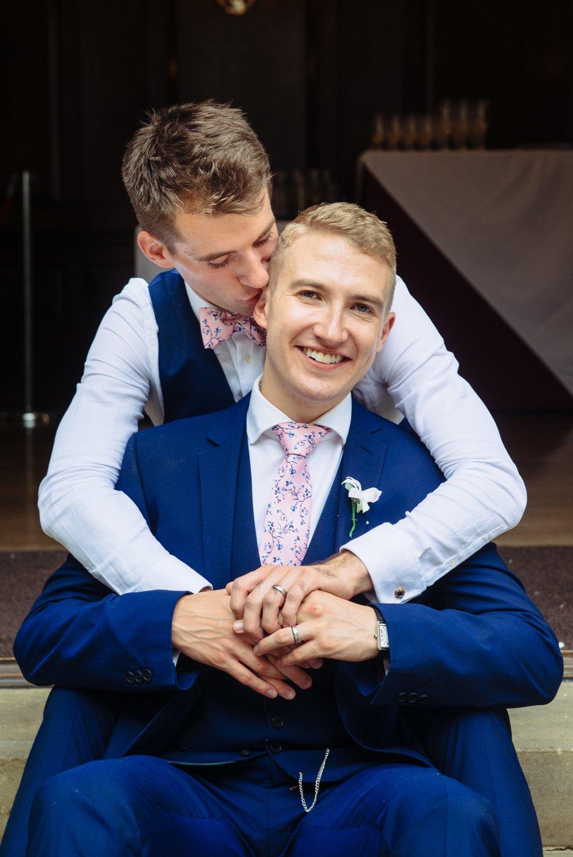 Matt and Joe London Wedding