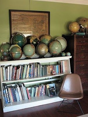 Because the more globes you have, the smarter your students are, right?