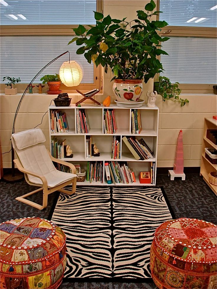 My dream is to have a very inviting and relaxing reading space.