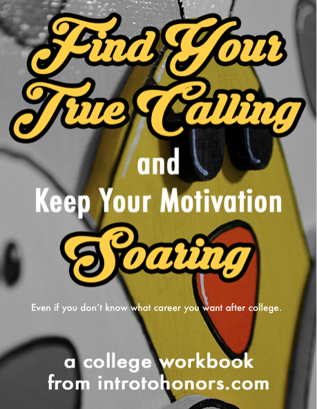 find your true calling and keep your motivation soaring a college workbook