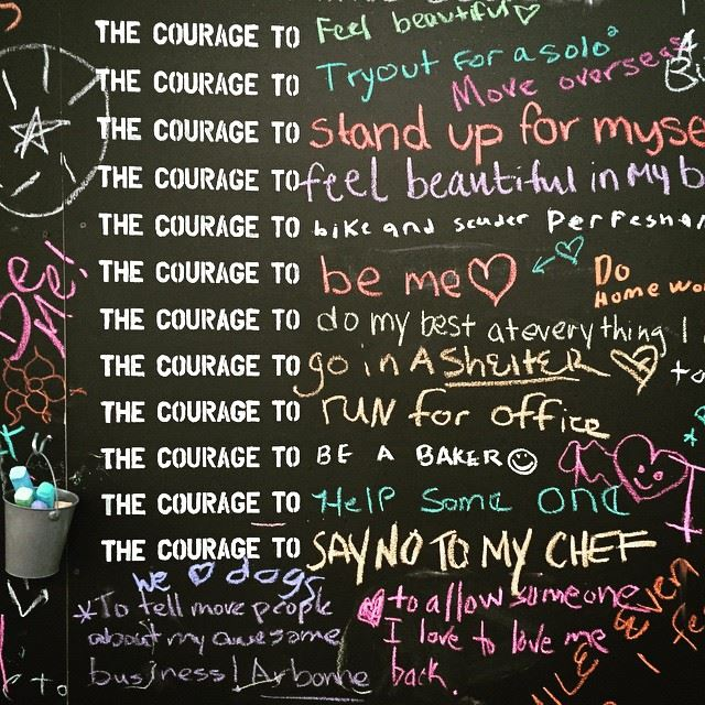 Courage declarations