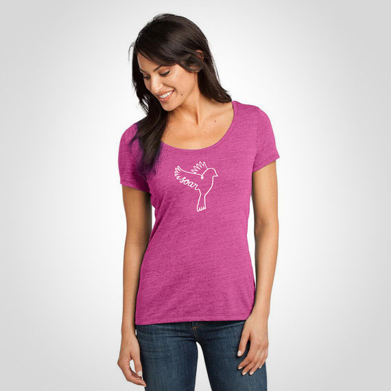 SOAR Raspberry Scoop Tee