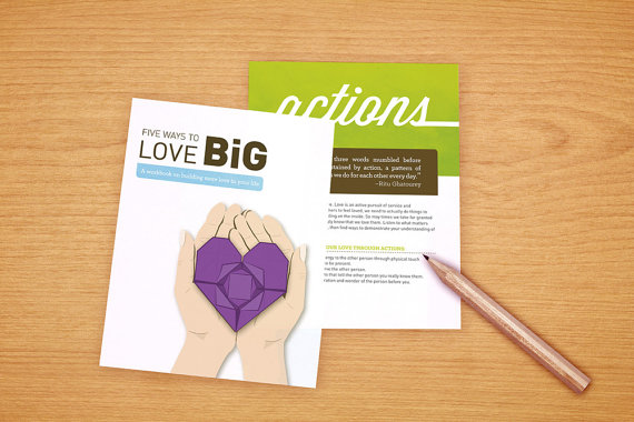 5 Ways to Love Big E-Workbook