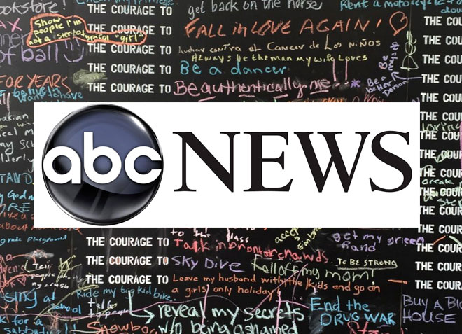 Courage Wall: ABC News, May 2015