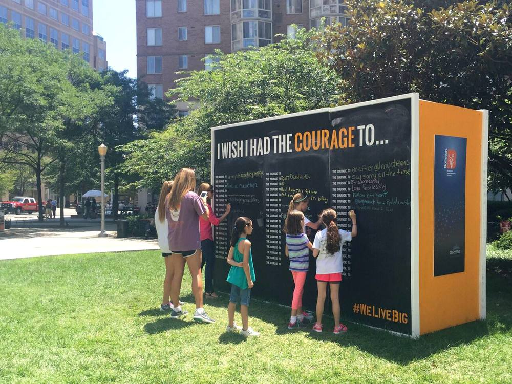 Courage Wall: The Arlington Patch, June 2015