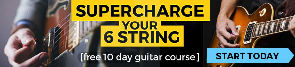 Self taught intermediate guitarist feeling lost? My  10 day guitar course  will sort you out.
