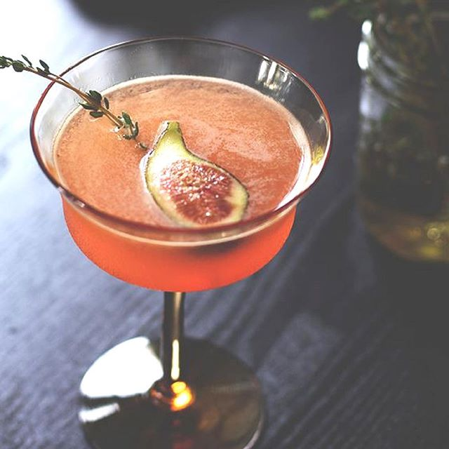 """Happy #friyay beauties! Currently pinning """"Sip   Imbibe."""" How about kicking off the weekend with a pretty seasonal cocktail? I'm loving this fig + thyme concoction from """"The Art of the Bar."""" You can find the recipe on our #Pinterest feed @ papillonapothic 🍸Cheers! #papillonapothicaire #botanicalalchemy #nextgenerationaromatherapy #theartofslowliving #cocktailhour #sip #imbibe"""