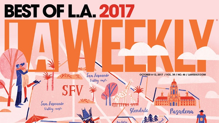 ShyBoy Best Solo Artist LA Weekly Best of 2017 Readers' Choice