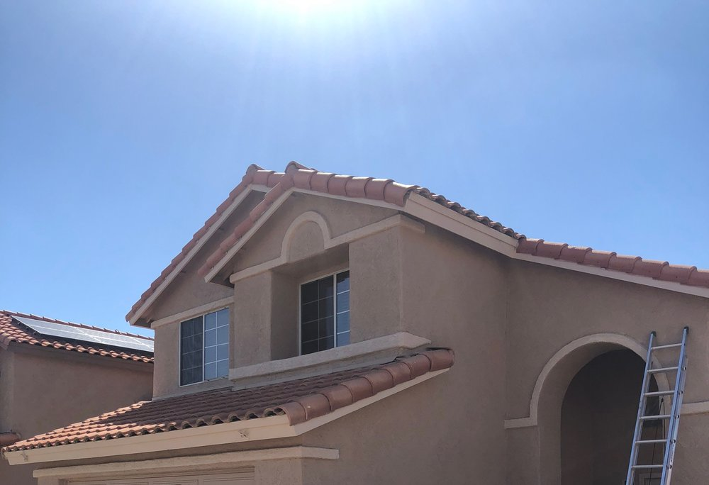 TILE REPAIRS - MAKE SURE YOUR TILE ROOF IS'NT LEAKING WITH A ROOF INSPECTION AND REGULAR MAINTENANCE