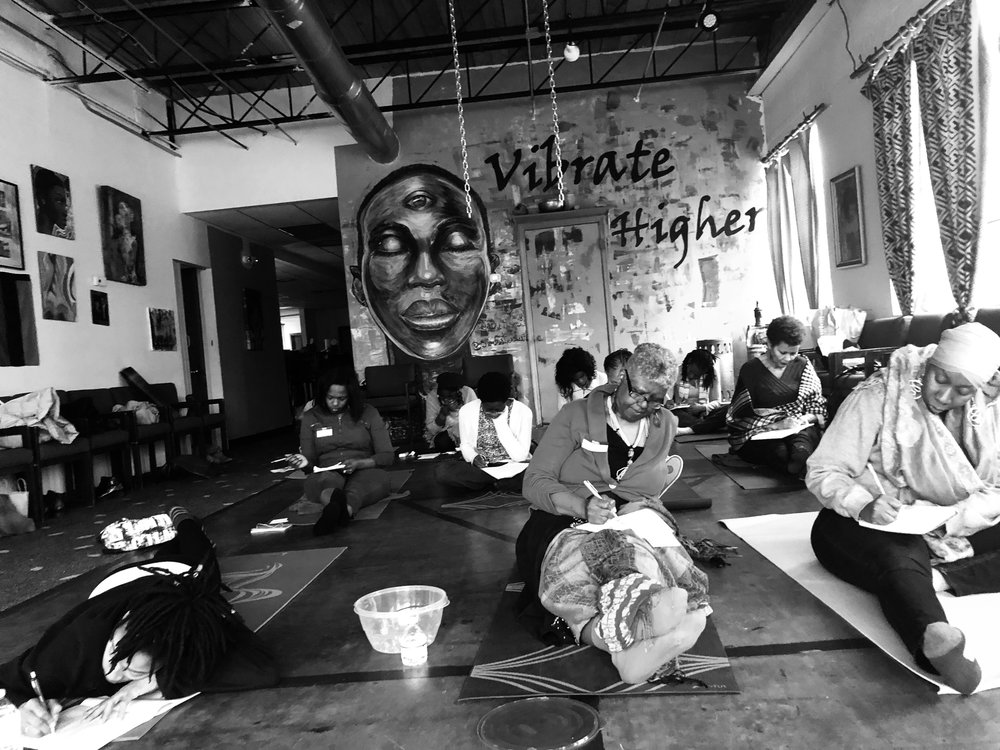 Join TLR + Tribe for #WrittenTherapyATL - A safe and sacred space to write and release.