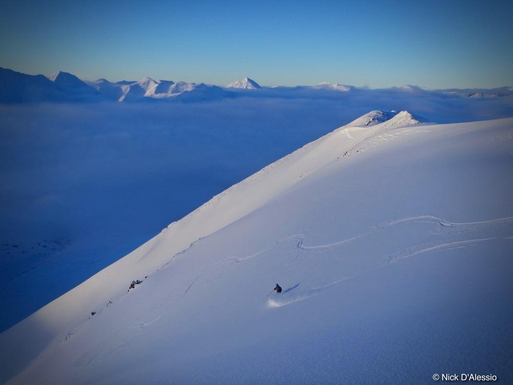 Sunburst Mountain, Turnagain Pass, Alaska skiing, Remarkable Adventures