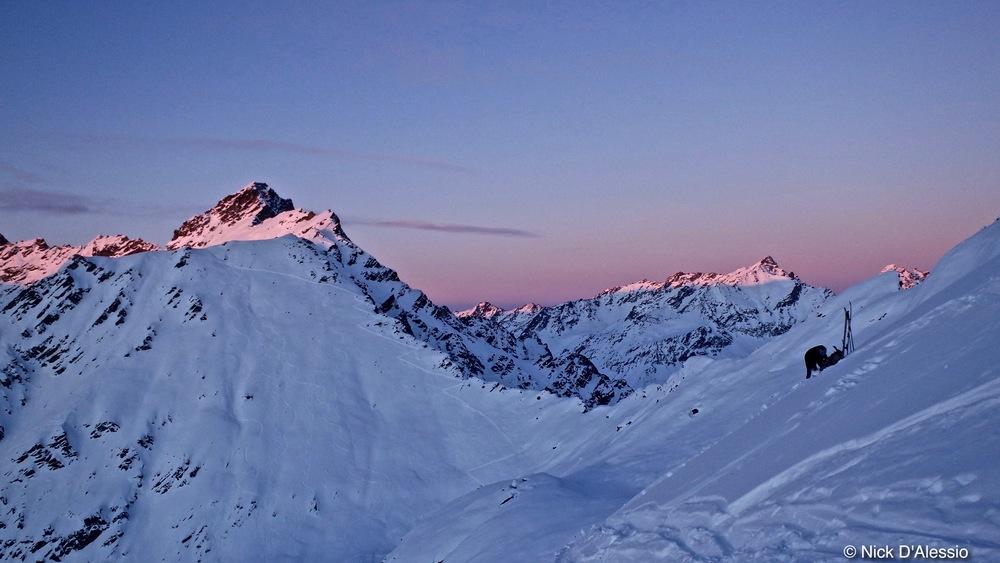 Skiing Hatcher Pass, Talkeetna Mountains, Alaska, Remarkable Adventures