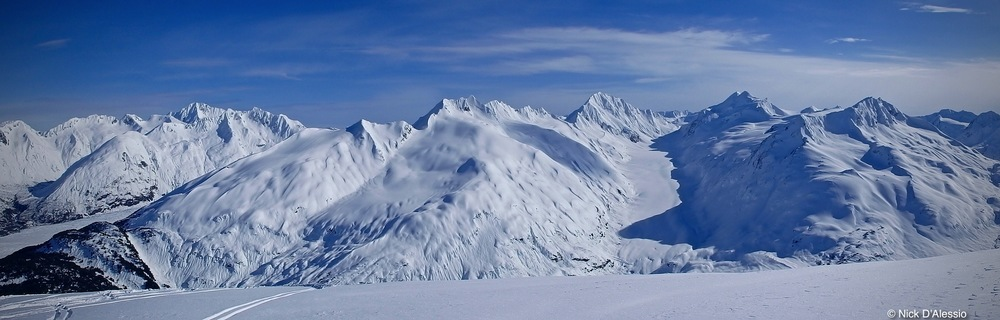 Alaska ski terrain