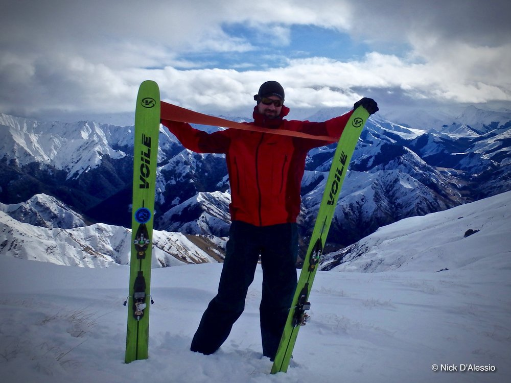 Ski Guide Nick D'Alessio, Remarkable Adventures. Voile