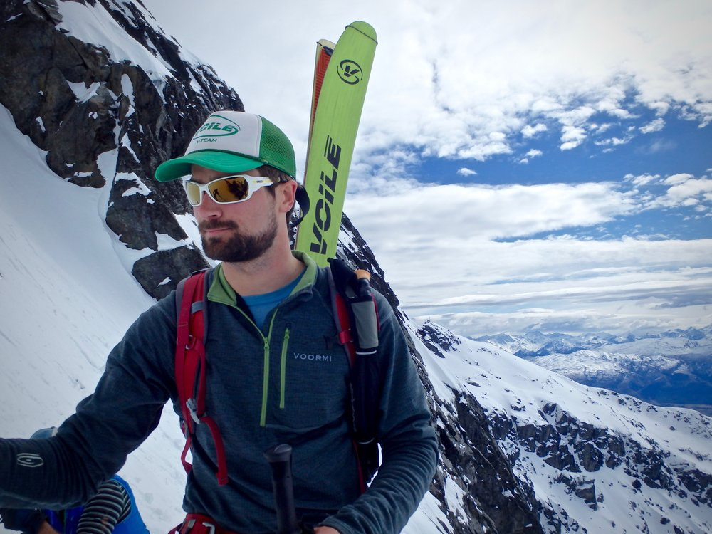 Nick D'Alessio, AMGA Ski Guide. Remarkable Adventures