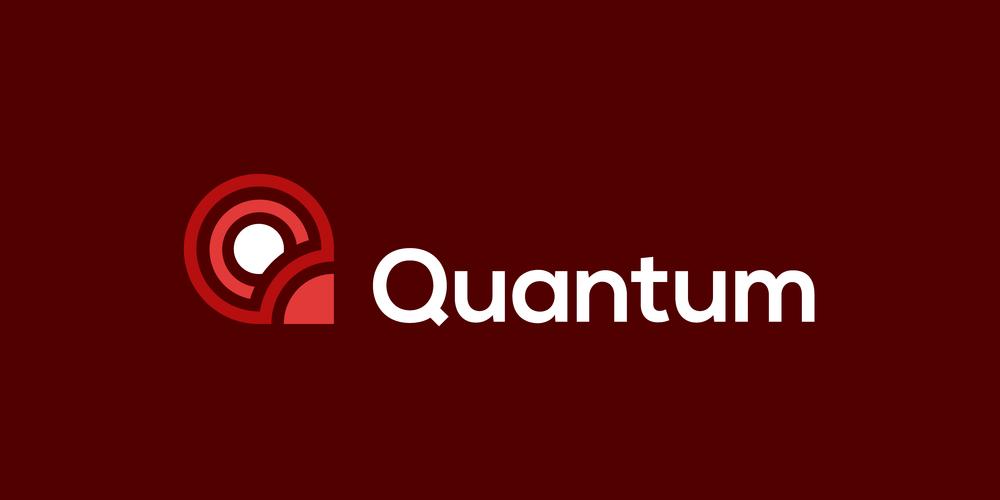 Quantum logo by Alex Pasquarella