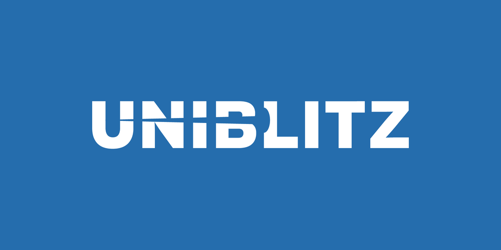 Uniblitz logo by Alex Pasquarella