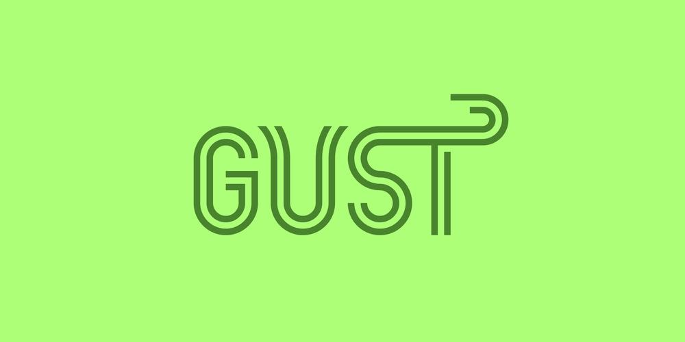 Gust logo by Alex Pasquarella