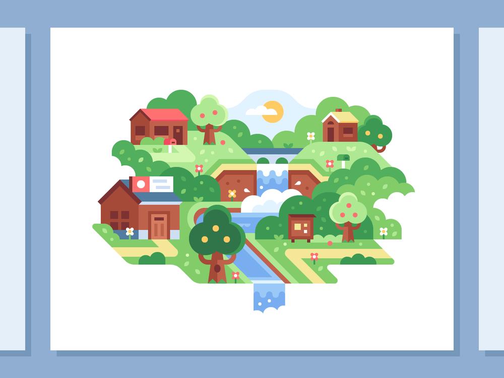 Animal Crossing illustration and print by Alex Pasquarella