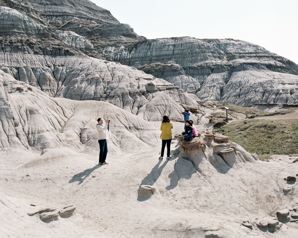Tourists at the Hoodoos